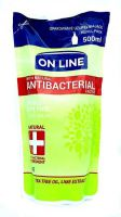 Mydło Antibacterial 500ml Lime zapas